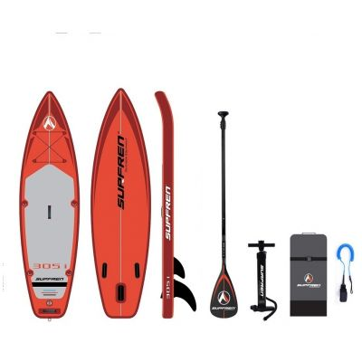 SUPFREN 305*81*15CM inflatable surfboard stand up paddle board inflatable surf board sup paddle boat 305i kayak boat